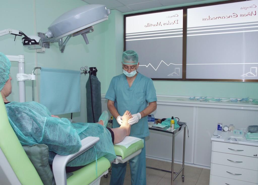 En Podocen Avila somos expertos en cirugía del pie